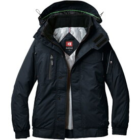 バートル BURTLE バ−トル 防寒ジャケット 7210−35−LL ブラック 7210-35-LL