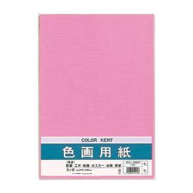 マルアイ MARUAI 色画用紙N832もも PIN83P