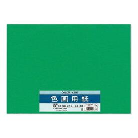 マルアイ MARUAI 色画用紙N452みどり PIN45G