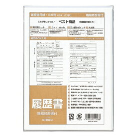 マルアイ MARUAI 履歴書職務経歴書付 29M