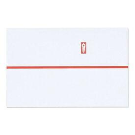 マルアイ MARUAI 祝のし紙赤棒85N N5
