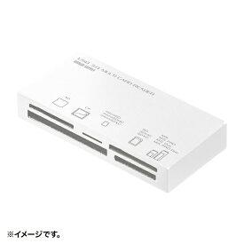 サンワサプライ SANWA SUPPLY ADR-3ML50W USB3.1 マルチカードリーダー ホワイト