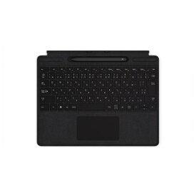 マイクロソフト Microsoft 【純正】 Surface Pro X Signature キーボード スリム ペン付き ブラック QSW-00019[サーフェスプロX タイプカバー ペン アクセサリー]