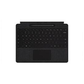 マイクロソフト Microsoft 【純正】 Surface Pro X Signature キーボード スリム ペン付き(英字配列) ブラック QSW-00021[サーフェスプロX タイプカバー ペン アクセサリー]