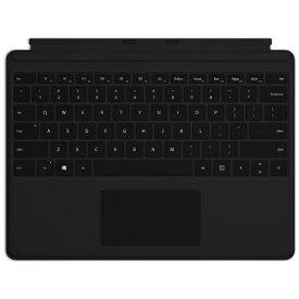 マイクロソフト Microsoft 【純正】 Surface Pro X キーボード(英字配列) ブラック QJW-00021[サーフェスプロX タイプカバー アクセサリー]