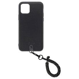 Straps ストラップス Straps(ストラップス) iPhone 11 Proケース+フィンガーストラップ スパークルブラック Straps(ストラップス) スパークルブラック KSTPS-F11P-SPB