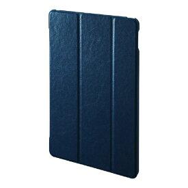 サンワサプライ SANWA SUPPLY 10.2インチ iPad(第7世代)用 ソフトレザーケース ブルー PDA-IPAD1607BL