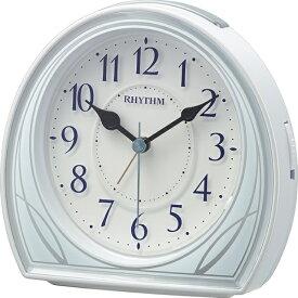 リズム時計 RHYTHM 目覚まし時計 リフレR677 8RE677SR04 [アナログ]