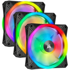 CORSAIR コルセア ケースファンx3[120mm / 1500RPM] iCUE対応 QL120 RGB Triple Fan Kit CO-9050098-WW