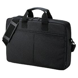 サンワサプライ SANWA SUPPLY ノートパソコン対応[15.6インチワイド] PCインナーバッグ キャリーオン対応 ブラック BAG-INA4LN2