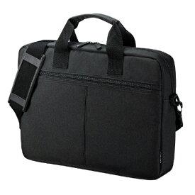 サンワサプライ SANWA SUPPLY ノートパソコン対応[13.3インチワイド] PCインナーバッグ キャリーオン対応 ブラック BAG-INA4N2