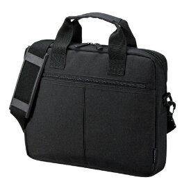 サンワサプライ SANWA SUPPLY ノートパソコン対応[11.6インチワイド] PCインナーバッグ キャリーオン対応 ブラック BAG-INB5N2