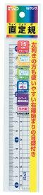クツワ KUTSUWA 15cmメタクリル直線定規 HS151