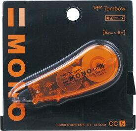 トンボ鉛筆 Tombow 修正テープモノCC5C50オレンジ CT-CC5C50