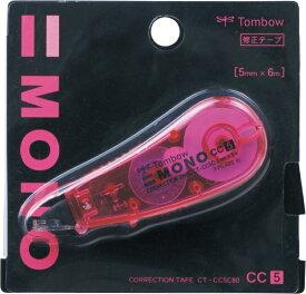 トンボ鉛筆 Tombow 修正テープモノCC5C80ピンク CT-CC5C80