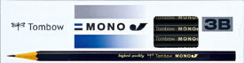 トンボ鉛筆 Tombow 鉛筆モノJ 3B MONO-J3B