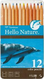 トンボ鉛筆 Tombow 缶入色鉛筆ハローネイチャーDL0212C CB-RHNDL0212C
