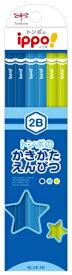 トンボ鉛筆 Tombow かきかた鉛筆プレーンM04 2B KB-KPM04-2B