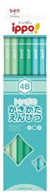 トンボ鉛筆 Tombow かきかた鉛筆プレーンN04 4B KB-KPN04-4B