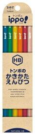 トンボ鉛筆 Tombow 柄付鉛筆ナチュラルN04 HB GB-KNN04