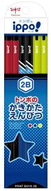 トンボ鉛筆 Tombow かきかた鉛筆プリントM04 2B KB-KRM04-2B