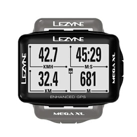 LEZYNE GPSサイクルコンピューター MEGA XL GPS(2.7インチディスプレイ/ブラック) 57_3701100002