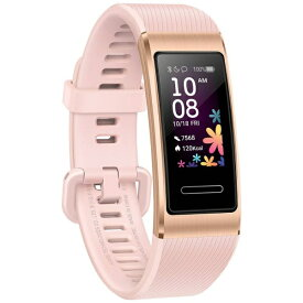HUAWEI ファーウェイ BAND4PROPG ウェアラブル端末 Band 4 pro/Pink Gold