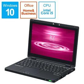 パナソニック Panasonic CF-RZ8NFMQR ノートパソコン Let's note(レッツノート)RZシリーズ【LTE対応モデル】 ブラック [10.1型 /intel Core i5 /SSD:256GB /メモリ:16GB /2020年01月モデル][10インチ office付き 新品 windows10]