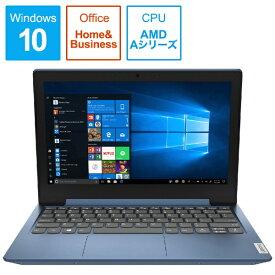 レノボジャパン Lenovo 81VR001CJP ノートパソコン IdeaPad Slim 150 アイスブルー [11.6型 /AMD Aシリーズ /SSD:128GB /メモリ:4GB /2020年1月モデル][11.6インチ office付き 新品 windows10]
