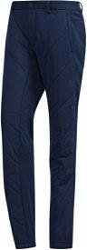 アディダス adidas メンズ パンツ キルティング 中わたパンツ(Oサイズ/カレッジネイビー) IPJ14