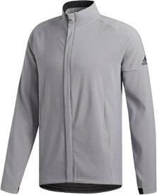 アディダス adidas メンズ ジャケット ソフトシェル 長袖ジャケット(Oサイズ/グレースリー) FWJ09
