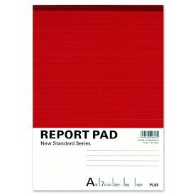 プラス PLUS レポートパッドB5A罫 RE-050A