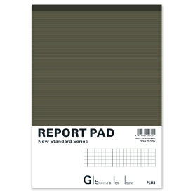 プラス PLUS レポートパッドB5G罫 RE-050G