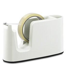 プラス PLUS テープカッターTCー401ホワイト TC-401