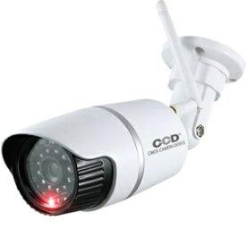 オンスクエア On Square アンテナ付バレット型防犯ダミーカメラ ホワイト OS-176W
