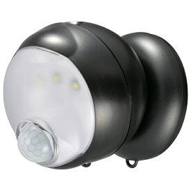 オーム電機 OHM ELECTRIC 360センサーライト monban ブラック LS-BH11SH4-K