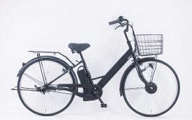 サイモト自転車 SAIMOTO 26型 電動アシスト自転車 EVA260(マットブラック/シングルシフト) FV_B260ALR_BAA_B【組立商品につき返品不可】 【代金引換配送不可】