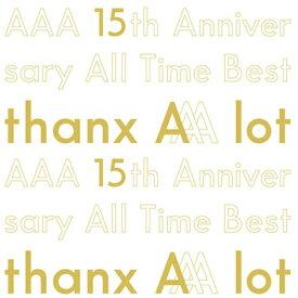 エイベックス・エンタテインメント Avex Entertainment AAA/ AAA 15th Anniversary All Time Best -thanx AAA lot- 初回生産限定・豪華盤【CD】