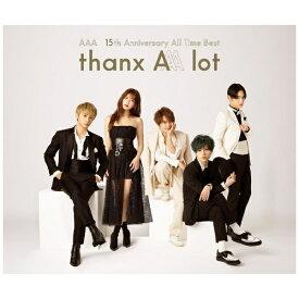 エイベックス・エンタテインメント Avex Entertainment AAA/ AAA 15th Anniversary All Time Best -thanx AAA lot- 通常盤【CD】