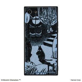 HAMEE ハミィ iPhone SE(第2世代)4.7インチ/ iPhone 8/7専用 ムーミン TILEケース TILE ムーミン/月明りの部屋 151-9103-910269