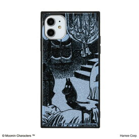 HAMEE ハミィ [iPhone 11専用]ムーミン TILEケース TILE ムーミン/月明りの部屋 151-910344