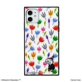 HAMEE ハミィ [iPhone 11専用]ムーミン TILEケース TILE リトルミイ/花柄 151-910368