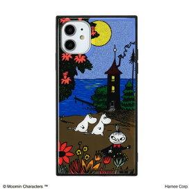 HAMEE ハミィ [iPhone 11専用]ムーミン TILEケース TILE ムーミンハウス/海辺 151-910375