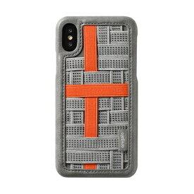 HAMEE ハミィ [iPhone XS/X専用]oregalo(オレガロ) Band Case oregalo オレンジ 276-910603