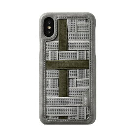 HAMEE ハミィ [iPhone XS/X専用]oregalo(オレガロ) Band Case oregalo カーキ 276-910610