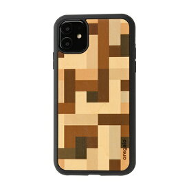 HAMEE ハミィ [iPhone 11専用]oregalo(オレガロ) × kibaco iPhone Case oregalo Mosaic 663-915905