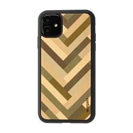 HAMEE ハミィ [iPhone 11専用]oregalo(オレガロ) × kibaco iPhone Case oregalo Herringbone 663-915912