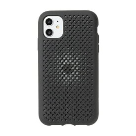 HAMEE ハミィ [iPhone 11専用]AndMesh メッシュiPhoneケース AndMesh ブラック 612-960809
