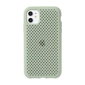 HAMEE ハミィ [iPhone 11専用]AndMesh メッシュiPhoneケース AndMesh クレイグリーン 612-960816