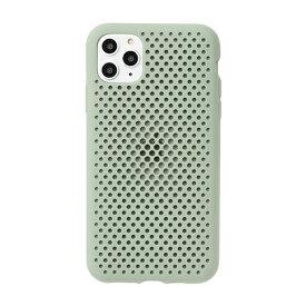 HAMEE ハミィ [iPhone 11 Pro Max専用]AndMesh メッシュiPhoneケース AndMesh クレイグリーン 612-960915